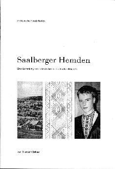 Saalberger Hemden - Eine Sammlung von historischen und aktuellen Mustern - Stand 2002